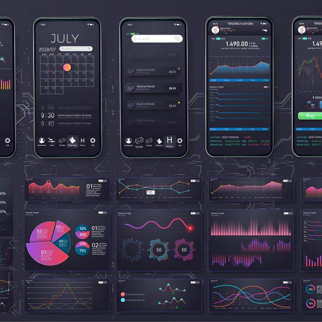 BAM by Design Mobile Fitness App UX UI